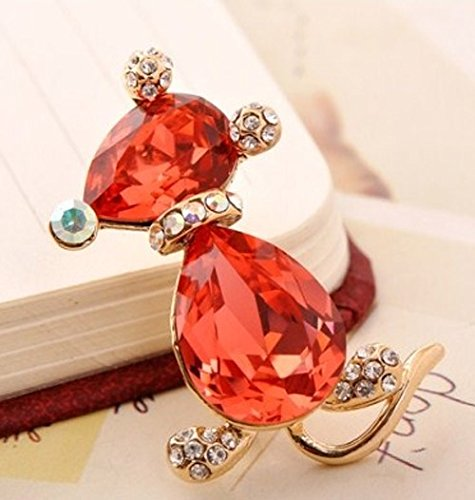 Pins & Brooches Capable Red Shoe Brooch Fashion Jewelry