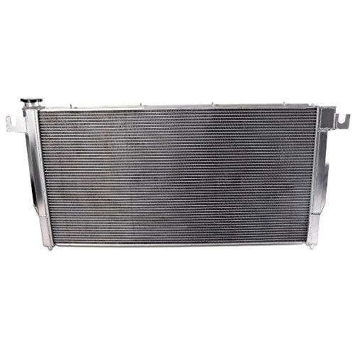 2 Row Core Racing Aluminum Performance Radiator Replacement For 1994-2002 Dodge Ram 2500 3500 5.9L DIESEL ENGINE