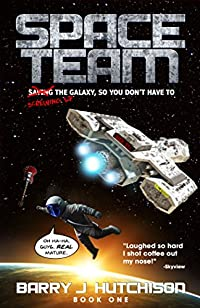Space Team by Barry J. Hutchison ebook deal