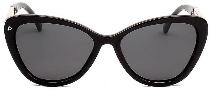"e7b19ef874 PRIVÉ REVAUX ICON Collection ""The Hepburn"" Designer Polarized Retro Cat-Eye  Sunglasses"