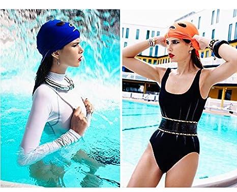 GZHOUSE Unisex Protezione Solare Nuoto Maschera Anti Medusa /& Bug mordere Facekini Maschera Subacquea
