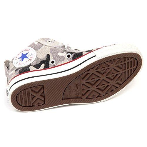 Kid Boy Bimbo Camouflage Converse Sneaker Star E8586 Grigio Shoe Grey qwxpC4S