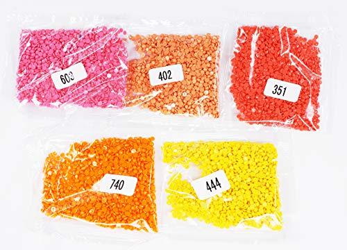 Replacement 402 - KOTART Diamond Painting Round Diamonds 5 Colour Set Replacement Rhinestones 351 402 444 603 730
