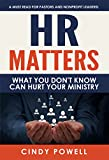 HR Matters: What you don't know can hurt your ministry