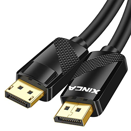 Cable Displayport 1.2 1080p-144hz 1mt Xinca