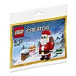 Lego 30573 Creator - Set da costruzione, motivo: Babbo Natale, multicolore  LEGO