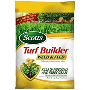15 Lb. 5 M Turf Builder Weed and Feed with Regular Feedings Provide the Nutrients Your Lawn Needs to Look Its Best and Withstand the Stress of Weeds, Heat, Drought and Family Activity