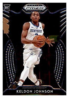 2019-20 Panini Prizm Draft #93 Keldon Johnson Kentucky Wildcats Basketball Card