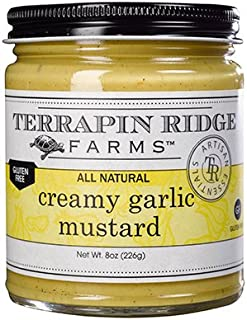 product image for Terrapin Ridge Farms Creamy Garlic Mustard 8 OZ (Pack of 6)