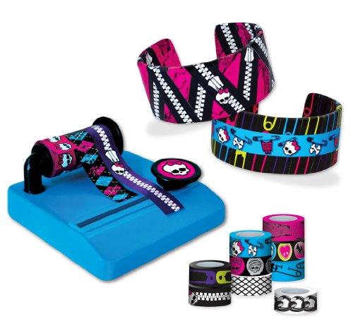 Fashion Angels Monster High Tapefitti Bracelet (Monster High Kit)