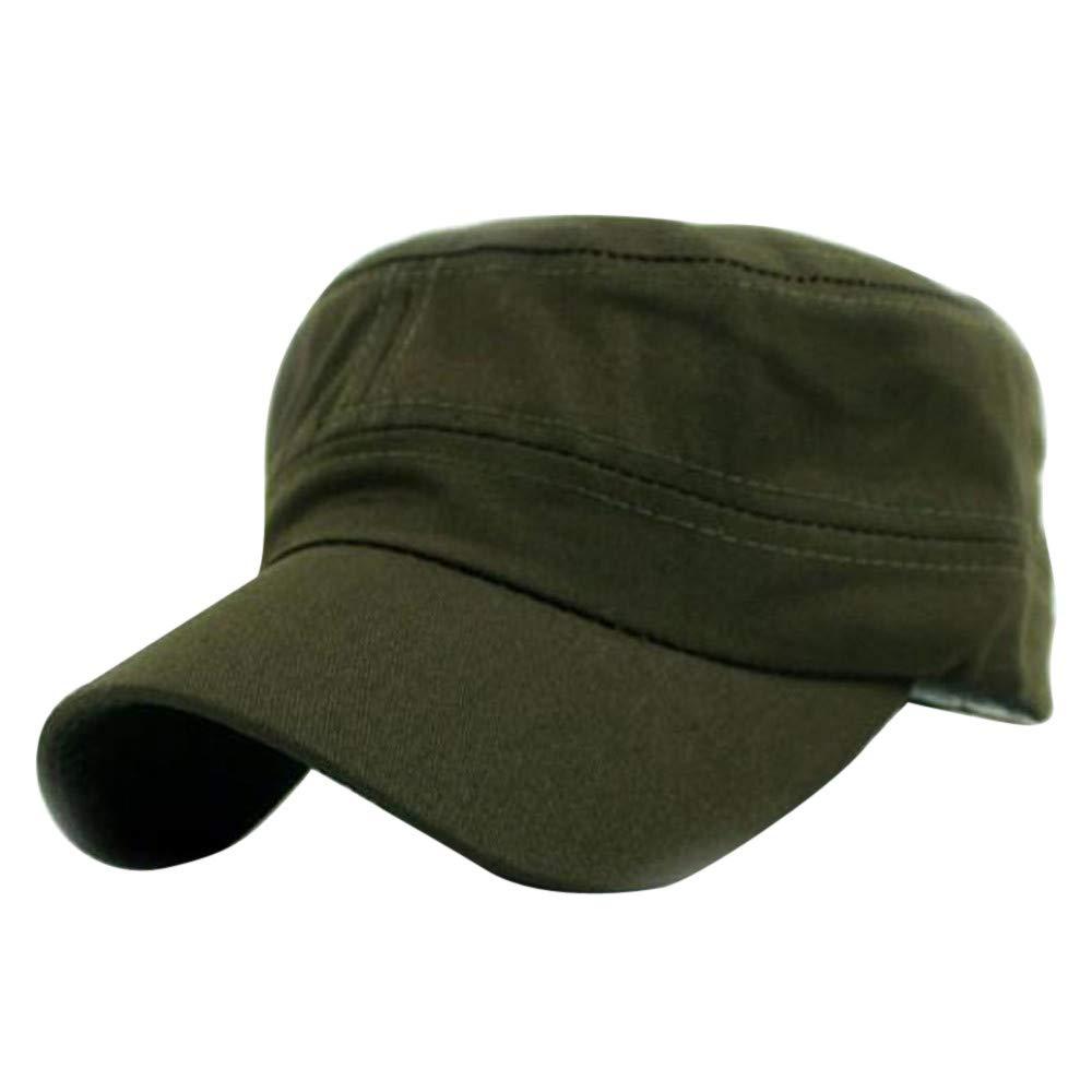 Sombrero de Copa Plano,BBestseller Color sólido Vintage Sombreros de Sol de Verano Adjustable Hip-Hop Visera para Mujeres: Amazon.es: Ropa y accesorios