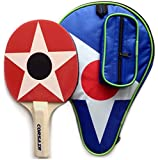 CORSAIR Ping Pong Paddle with Carry Case. High Performance Single Table Tennis Racket with Top Control, Feel and Spin.