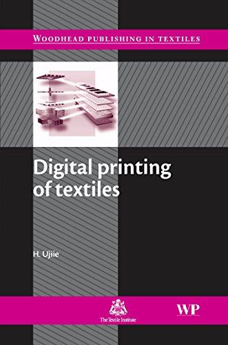 Digital Printing of Textiles (Woodhead Publishing Series in ()