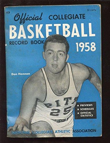 (1958 NCAA Collegiate Basketball Record Book)