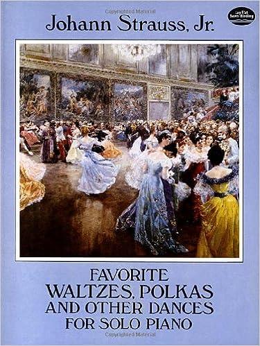 Piano Sélection de Valses-Polkas et autres danses