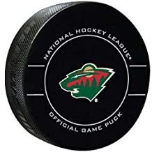 NHL Minnesota Wild Official Game Puck