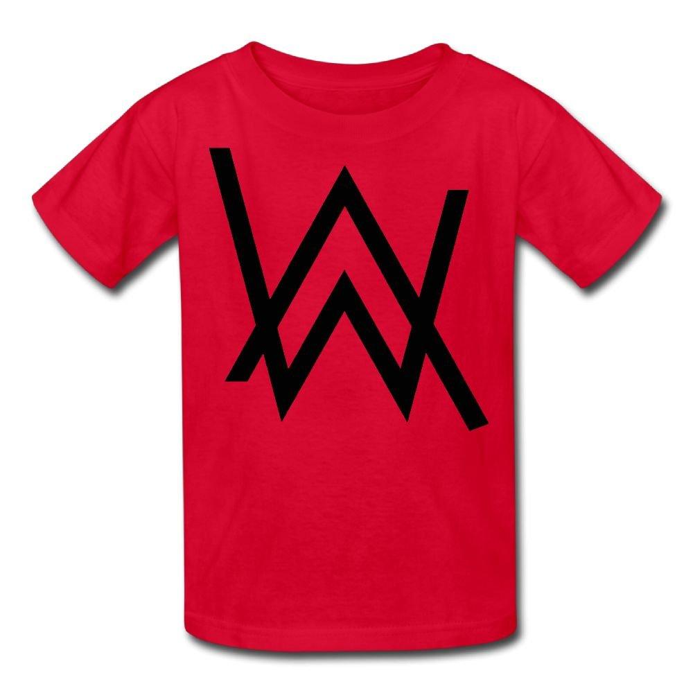 Edward Beck Teens Round Neck T Shirt Alan Walker Logo New Trend Style 9842