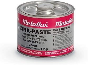 Zinc Paste 99% Pure Metaflux 70-40 Cold galvanizing Long Term Corrosion  Protection Coating 92da7584dc334