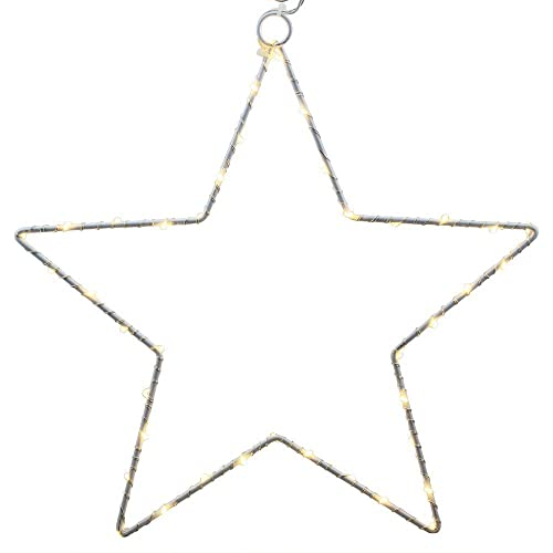 2 Pack Led Star Light, CMYK Battery Operated Led Copper Wire Lights for Christmas Wedding Festoon Party