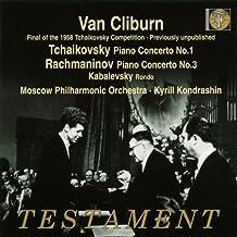Tchaikovsky: Piano Concerto.No.1; Rachmaninov: Piano Concerto No.3