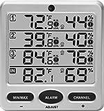 Ambient Weather WS-10 Wireless Indoor/Outdoor