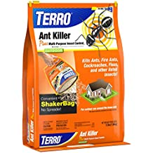 Terro 3 lb Ant Killer Plus – Also Kills Cockroaches, Fleas, and other listed insects