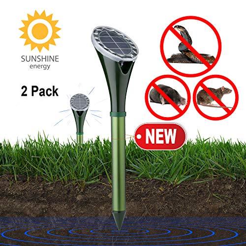 Solar Powered Snake Repellent