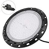 100W UFO High Bay LED Lighting 5000K White with