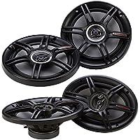 Crunch 300 Watts 6.5-Inch Coax Shallow + 400 Watts 6 x 9 Inches CS Speakers