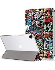 XINKOE Case For Apple ipad Pro 12.9(2020),Premium Quality PU Leather Case Slim Flip Shell Case for Apple ipad Pro 12.9(2020) -2