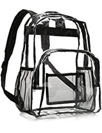 School Backpack - Clear