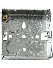 Bulk Hardware BH04060 35 mm 1-voudig metalen inbouwdoos, wit