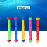 Pool Toys Rings for Kid Children, Underwater Game Fun Learn to Dive Toys for Diving Swimming Sinking Training