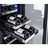"Avallon 23 Bottle 15"" Dual Zone Built-In Wine"