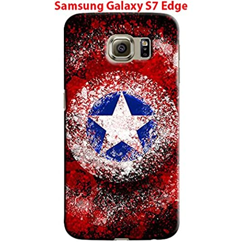 Captain America: Civil War & Characters for Samsung Galaxy S7 Edge Hard Case Cover (war18) Sales