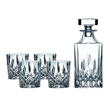 Royal Doulton Decanter Sets Spirit Square Decanter (Set of 4), Clear