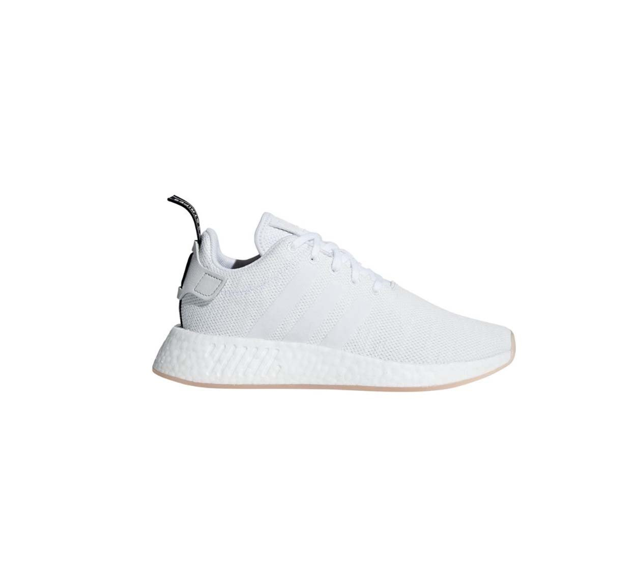 adidas Originals Women's NMD_r2 W Sneaker B07CN8BV5P 5.5 M US|Crystal White / Footwear White-core Black