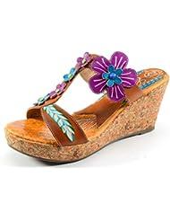Corkys Elite Mediterranean Amber Platform Shoe