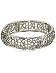1928 Jewelry Vines Filigree Stretch Bracelet