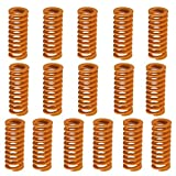SIQUK 16 Pieces Heated Bed Springs OD 0.31 Length
