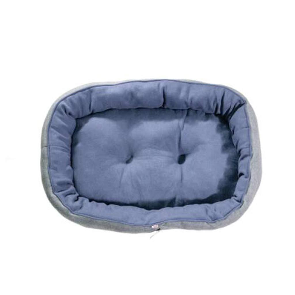 CCJW Kennel Pet Nest Autumn And Winter Living Room Nido bifacciale per Cani di Piccola Taglia (Dimensioni   M)