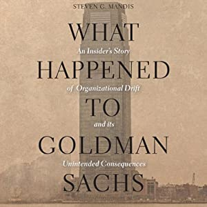 What Happened to Goldman Sachs Hörbuch