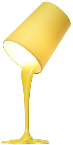 AllModern - Viv + Rae Splatter Table Lamp - Yellow