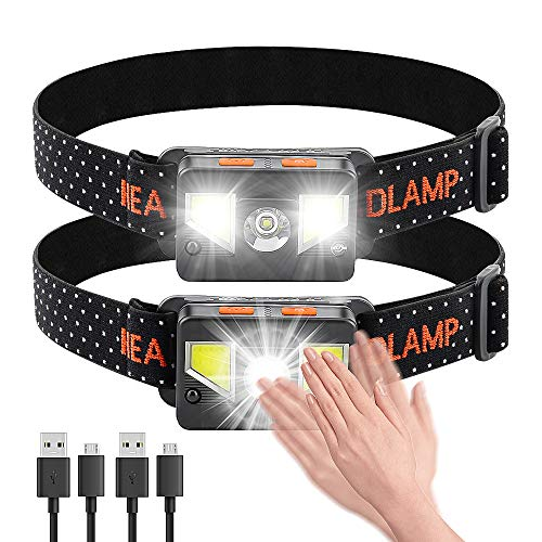 Bedee LED Headlamp Flashlight [2 Pack]
