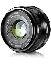 Neewer Manueller Fokus Prime Fest Objektiv für Sony E-Mount Digitalkameras (32mm f/1.6)