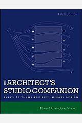 The Architect's Studio Companion: Rules of Thumb for Preliminary Design Paperback