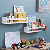 Wallniture Utah Set of 2 Nursery Room Wood Floating