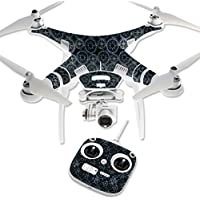 Skin For DJI Phantom 3 Standard – Compass Tile | MightySkins Protective, Durable, and Unique Vinyl Decal wrap cover | Easy To Apply, Remove, and Change Styles | Made in the USA