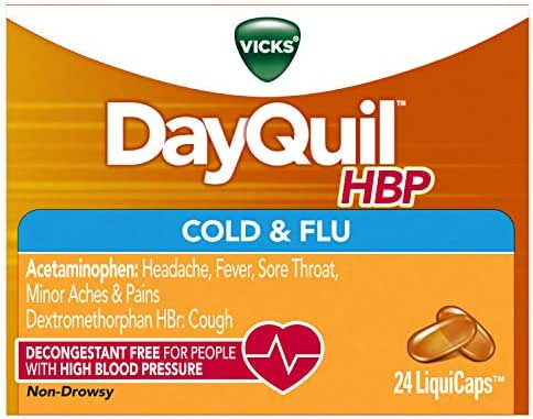 Cold & Flu: DayQuil Cold & Flu LiquiCaps HBP