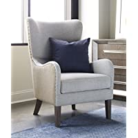 Tommy Hilfiger Warner Wingback Chair, Two-tone